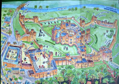 Alnwick Castle by Sarah Farooqi